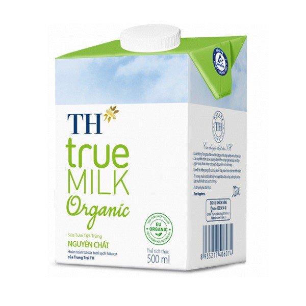Sữa tươi tiệt trùng TH True Milk Organic