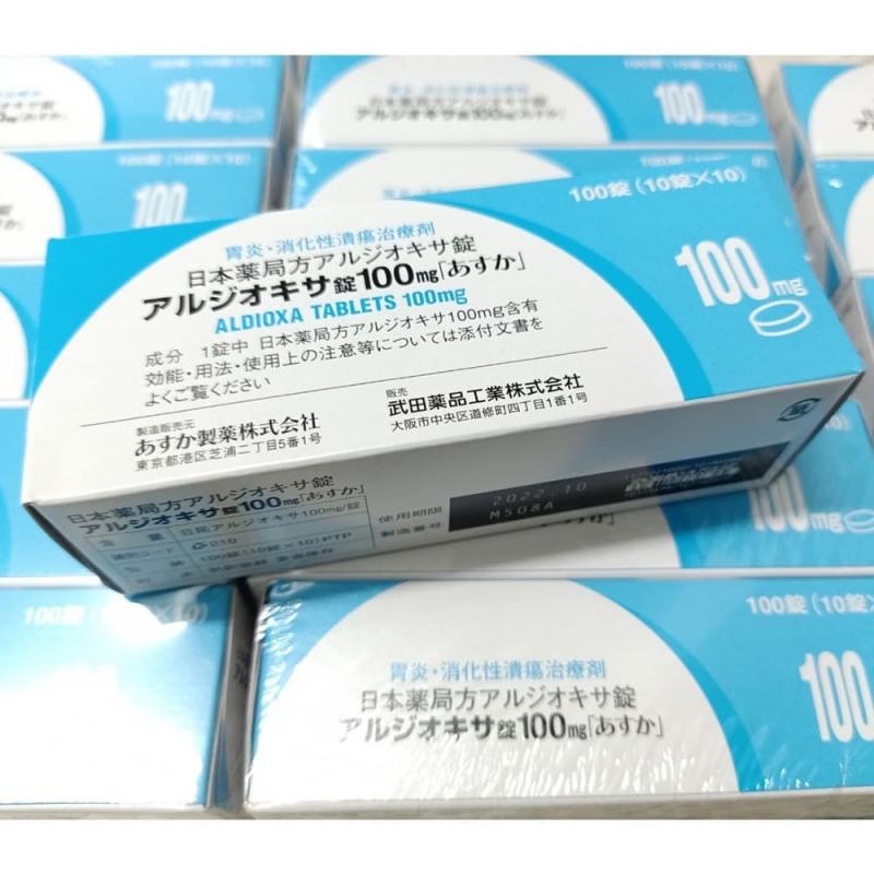 Thực phẩm chức năng Viên uống điều trị viêm loét dạ dày Aldioxa Tablets 100mg
