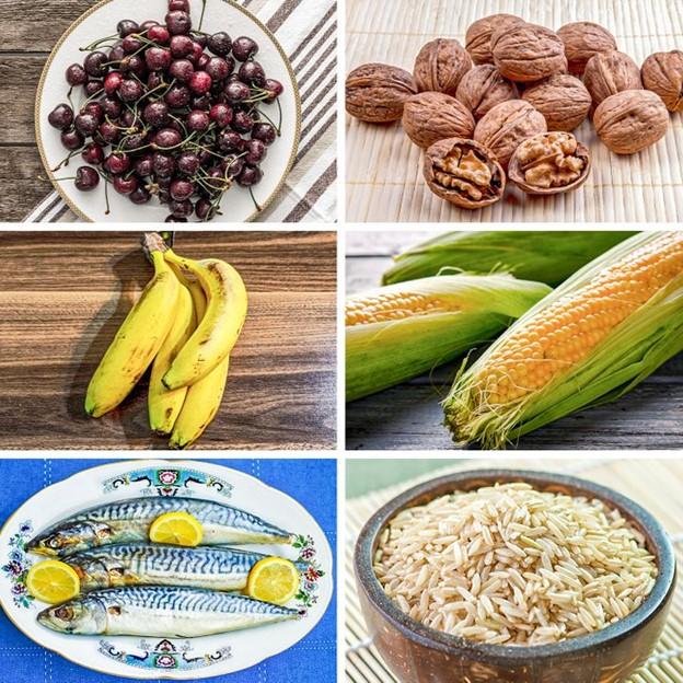 Thực phẩm giúp tạo ra melatonin