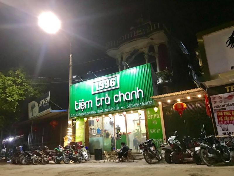 Tiệm trà chanh 1996