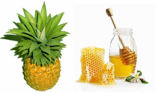 Trà dứa mật ong