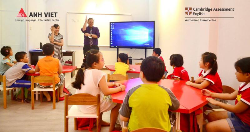 Trung tâm Ngoại ngữ Anh Việt