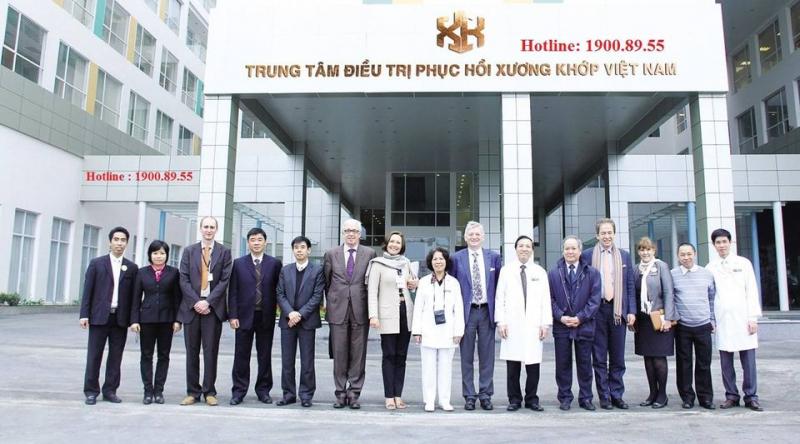 Trung tâm điều trị phục hồi xương khớp Việt Nam