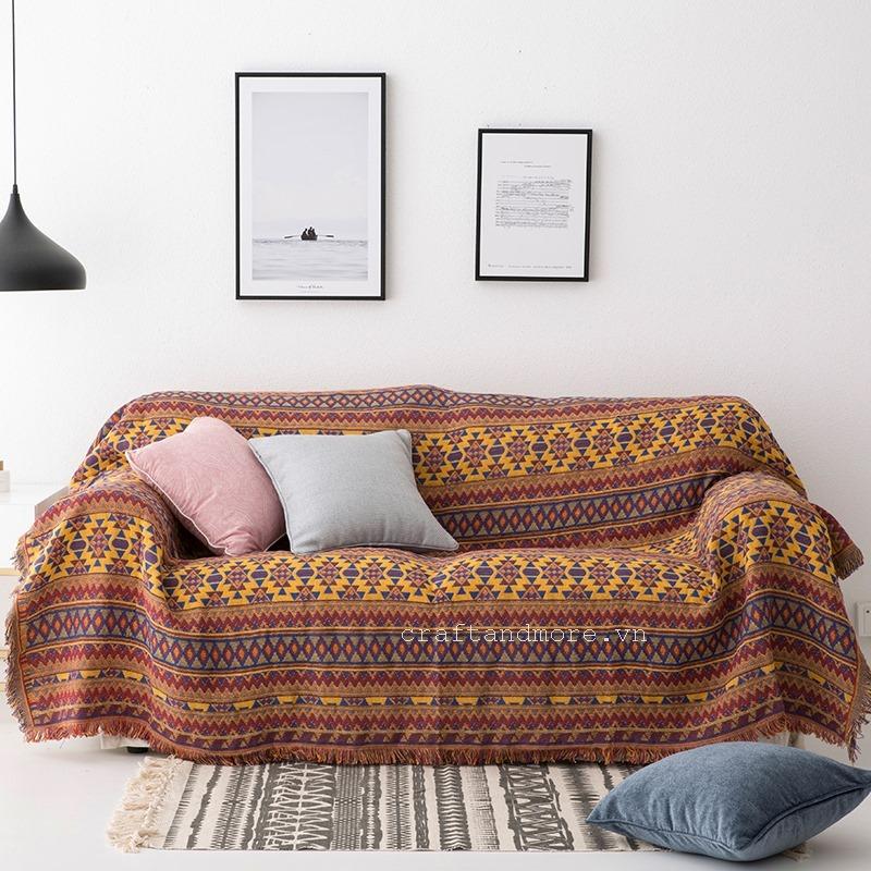 Vải bố, vải canvas trang trí nội thất  (Craft & More Vietnam | vietgiftcentercom)