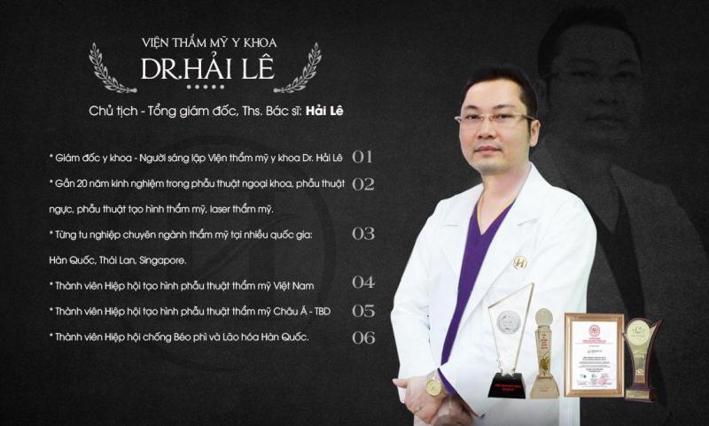 Viện thẩm mỹ y khoa DrHải Lê