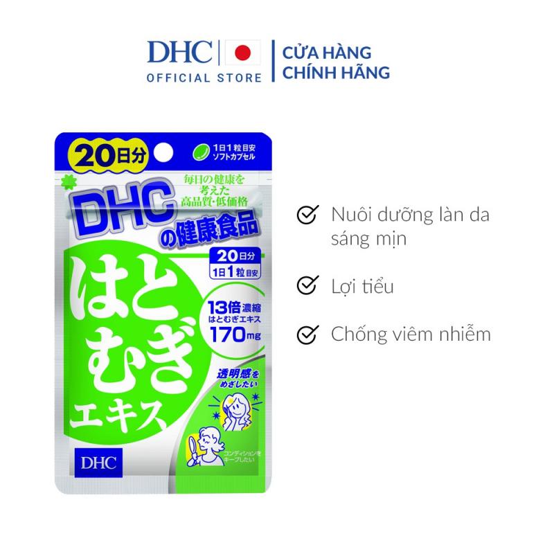 Viên uống sáng da DHC Nhật Bản Adlay Extract