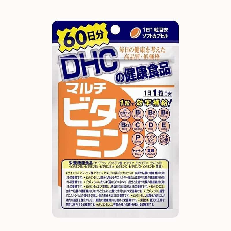 Viên uống vitamin tổng hợp DHC Multi Vitamins