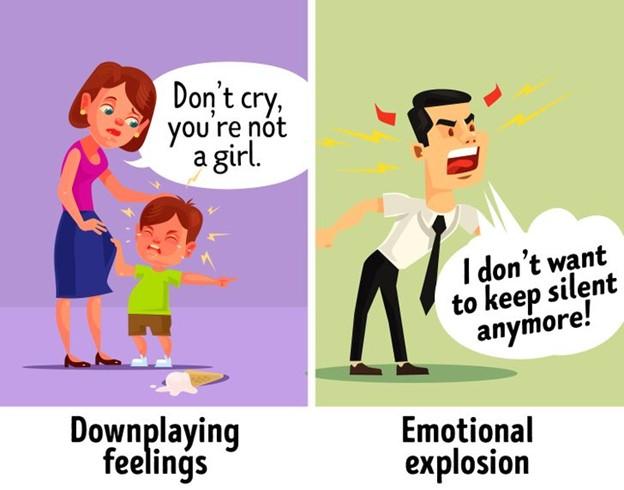 Bạn luôn hạ thấp, coi thường cảm xúc của con