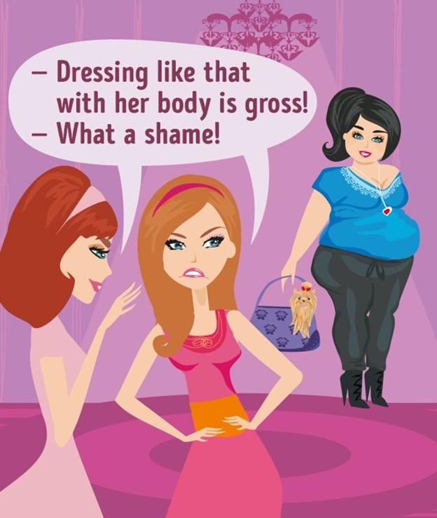 Bạn xấu hổ vì ngoại hình hay sở thích của mình