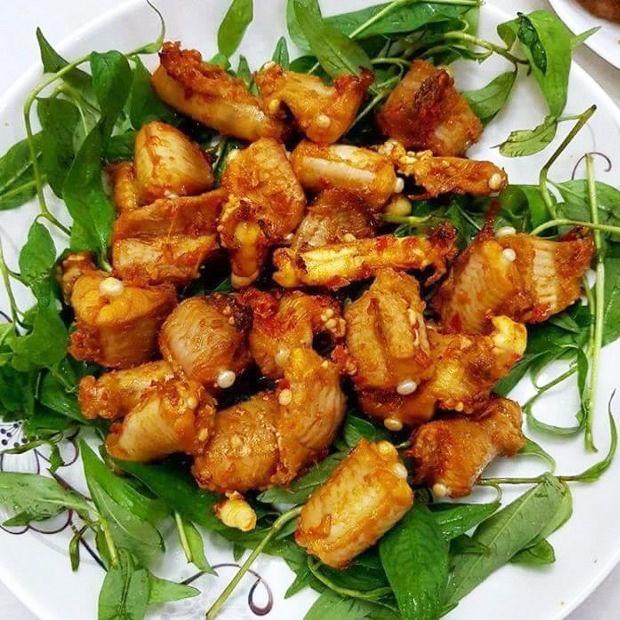 Cá mút đá (cá ninja) nướng sa tế