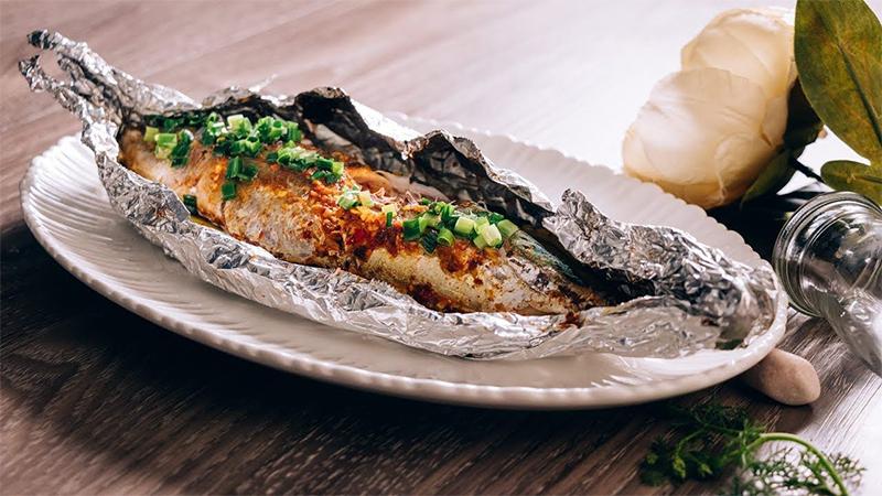 Cá ngừ nướng sa tế