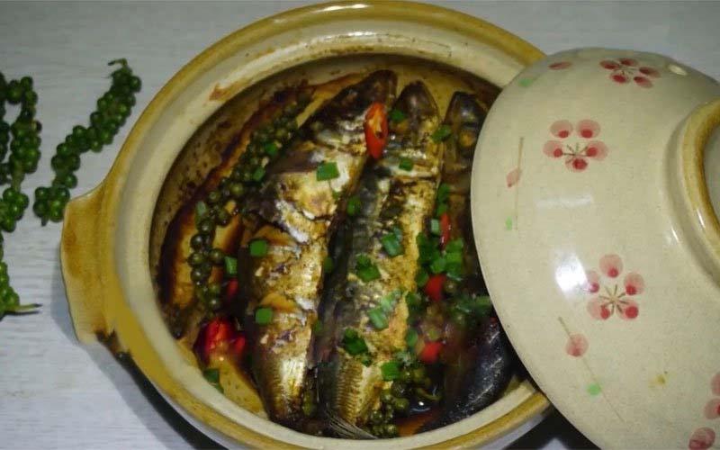 Cá nục kho tiêu