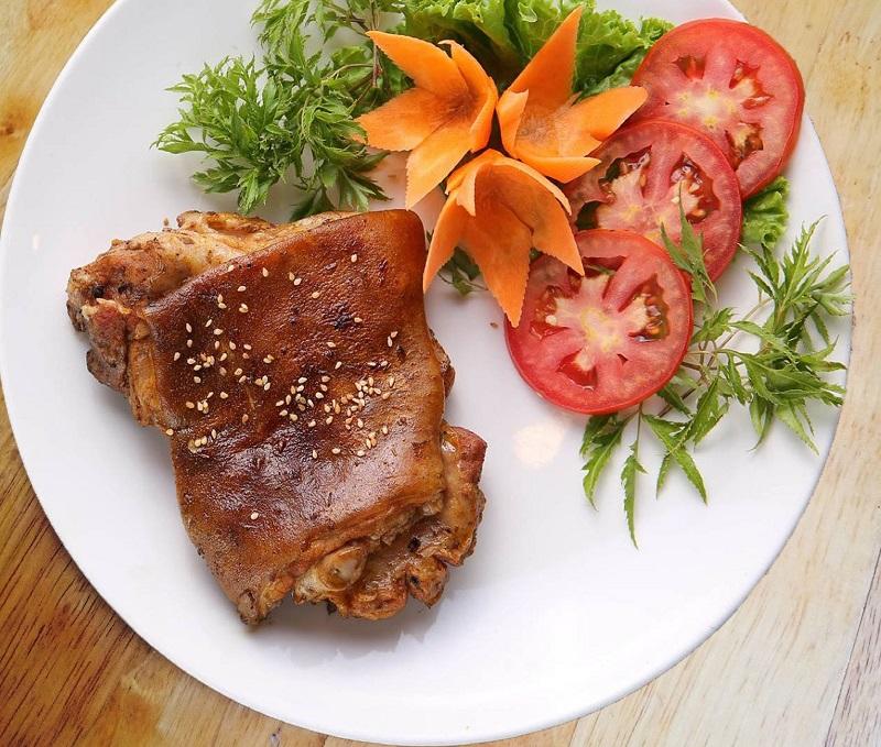 Cách làm thịt dê nướng tảng