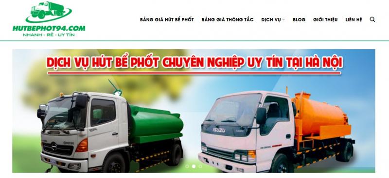 Công Ty TNHH Vệ Sinh Môi Trường Hà Nội - Hutbephot94