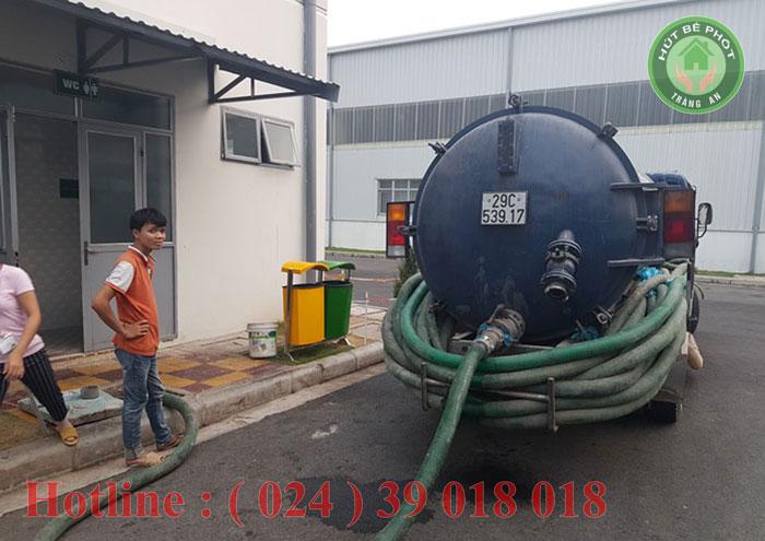 Công ty TNHH vệ sinh môi trường Tràng An