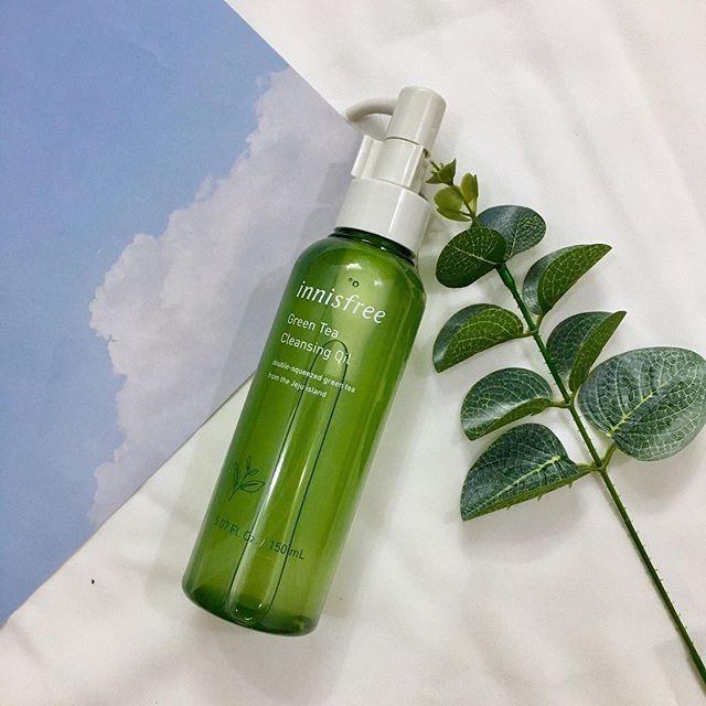 Dầu tẩy trang trà xanh innisfree Green Tea Cleansing Oil 150ml