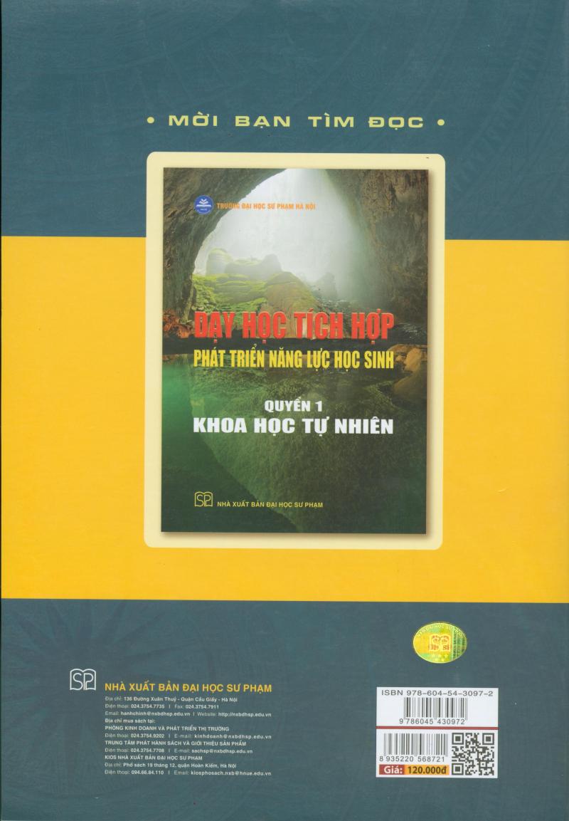 Dạy Học Tích Hợp Phát Triển Năng Lực Học Sinh (Quyển 1)