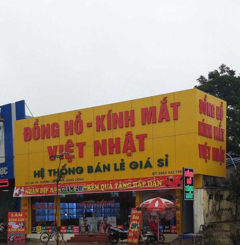 Đồng Hồ Kính Mắt Việt Nhật