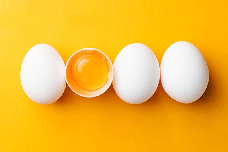 Giảm cân bằng dưa leo và trứng
