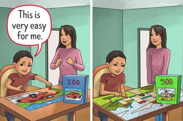 Giữ cho con sự tập trung và những thử thách cần vượt qua