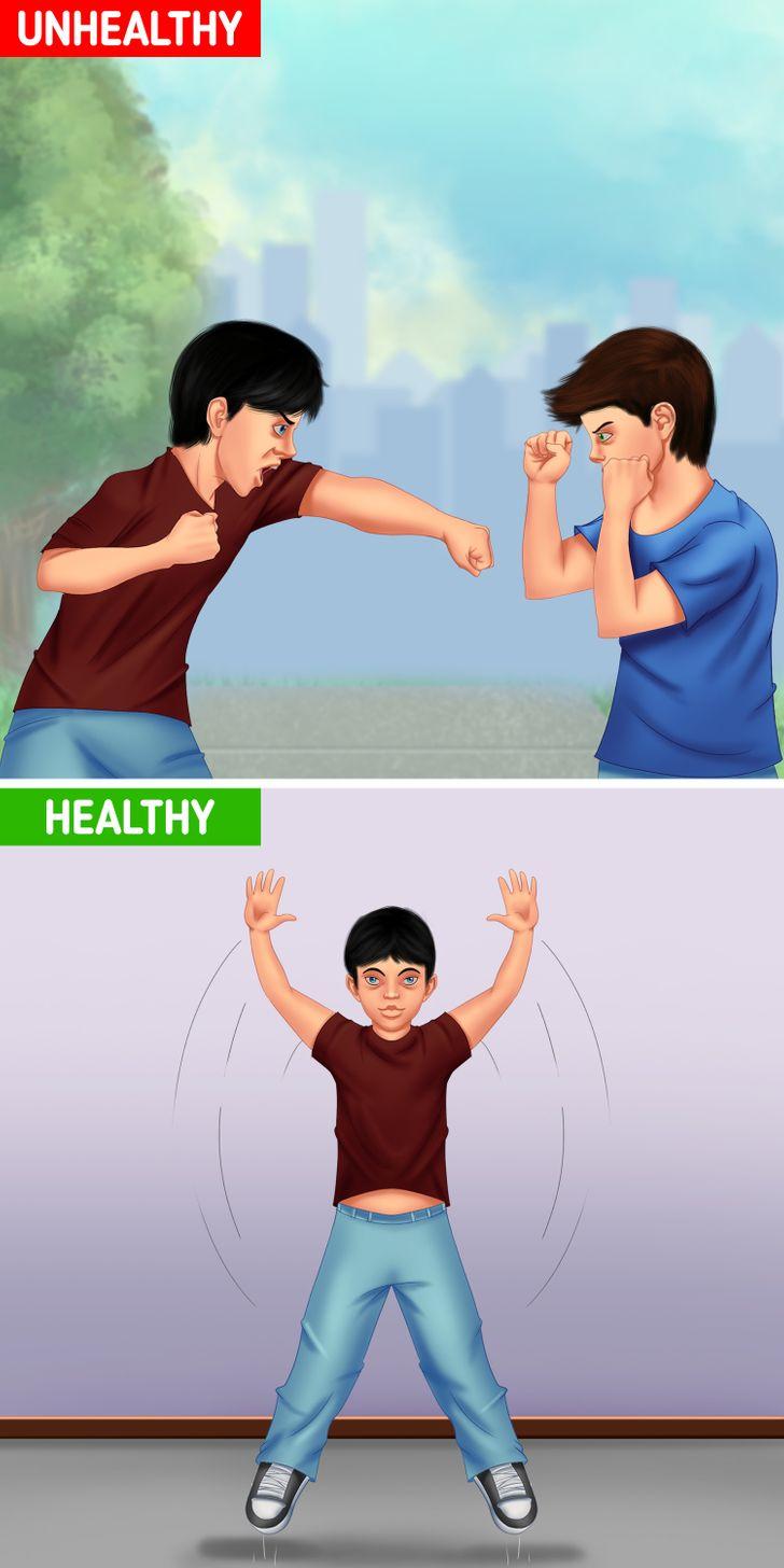 Hãy để con bạn bộc lộ cảm xúc tiêu cực 1 cách an toàn