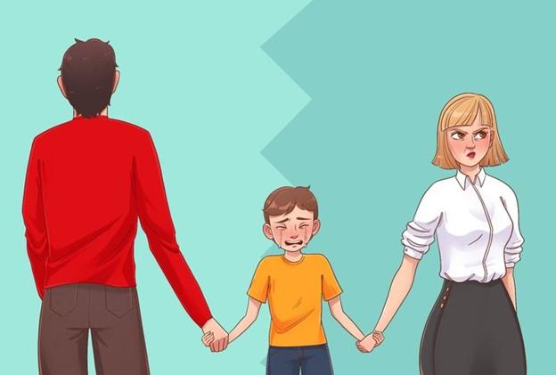 Họ không thể hiện bất kỳ hành động hay cử chỉ tình cảm nào với con