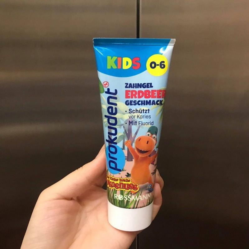 Kem đánh răng cho bé nuốt được Prokudent