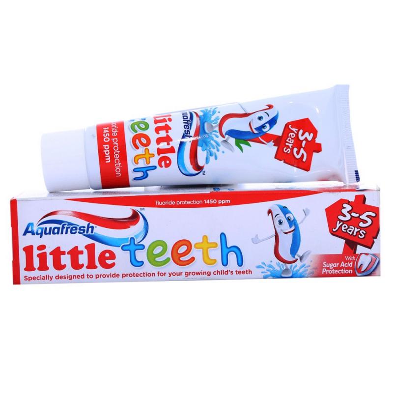 Kem đánh răng nuốt được Aquafresh