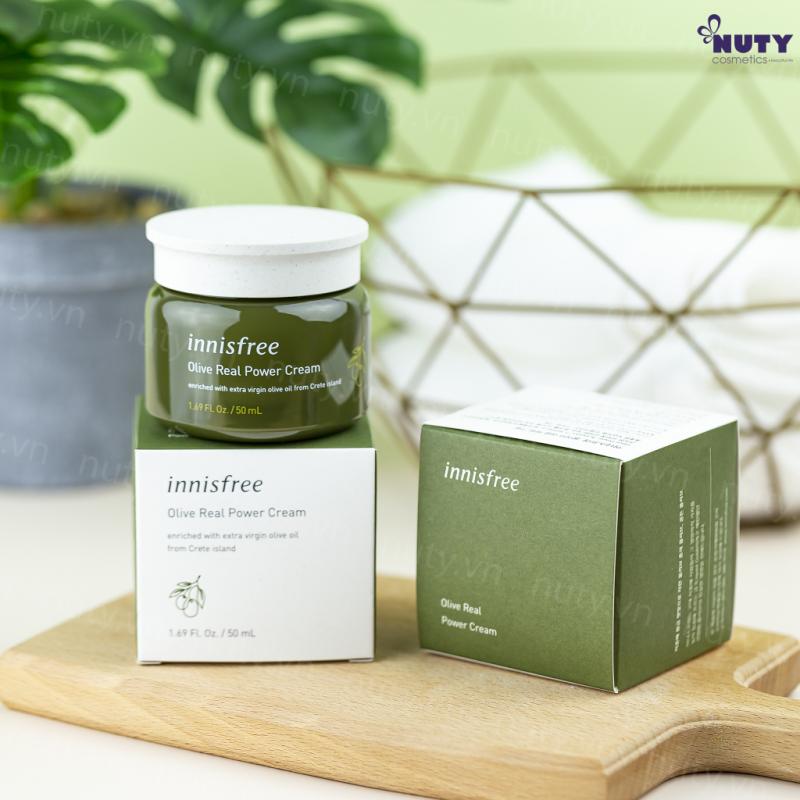 Kem dưỡng ướt innisfree Olive Real Power Cream 50ml
