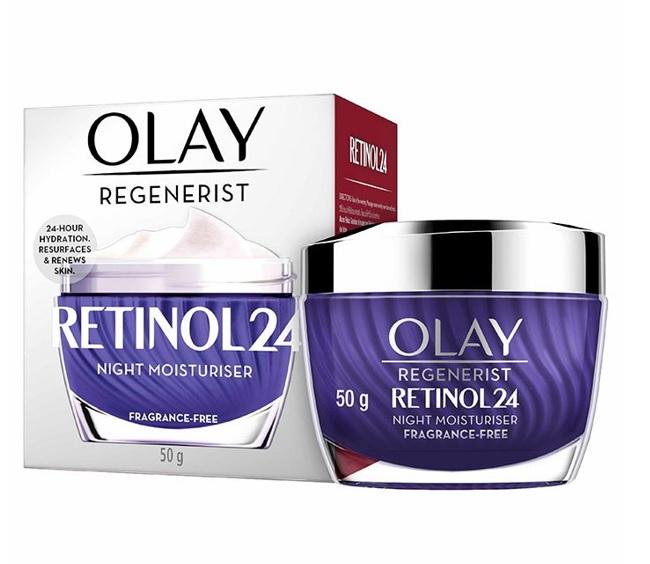 Kem dưỡng ban đêm tái tạo da Olay Retinol24