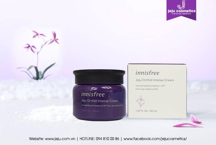Kem dưỡng chống lão hóa hoa lan tím Innisfree Jeju Orchid Intense Cream 50ml