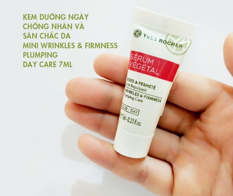 Kem dưỡng da ban ngày Yves Rocher Wrinkles & Firmness Plumping Day Care