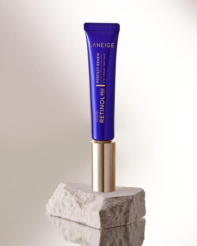 Kem ngăn ngừa lão hóa chứa Retinol cho da mắt và da mặt Perfect Renew Retinol Laneige Eye Cream