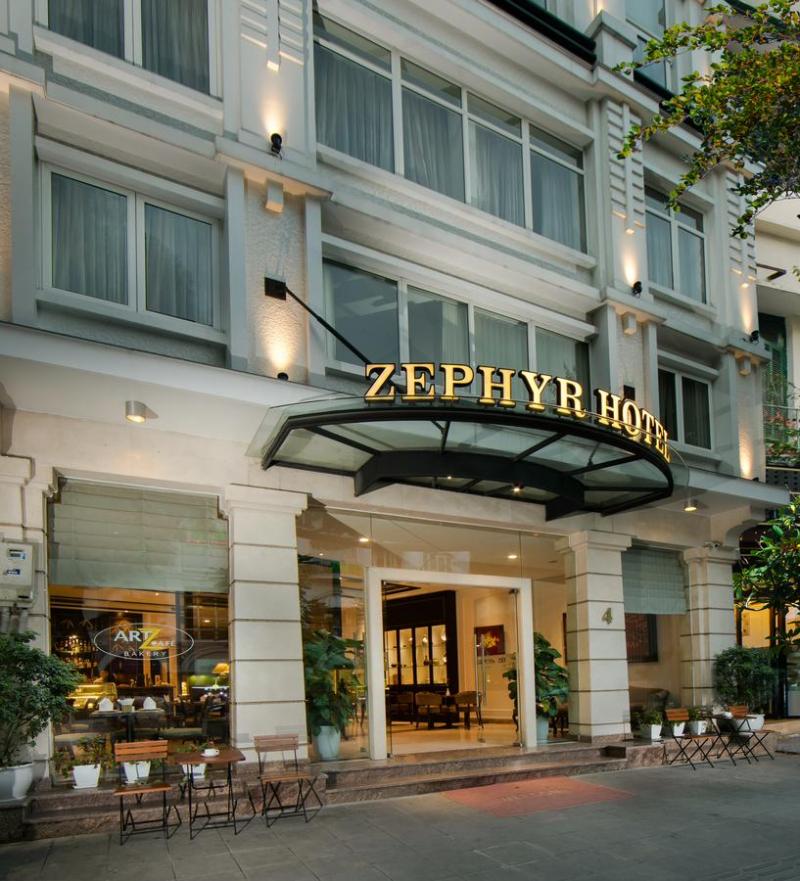 Khách sạn Zephyr Suites Boutique