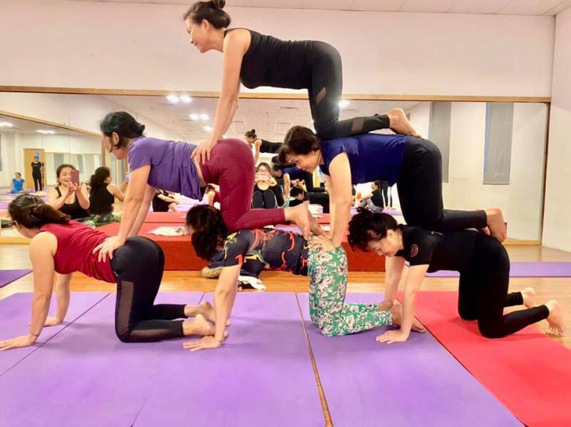 Mandala Yoga Lê Vi