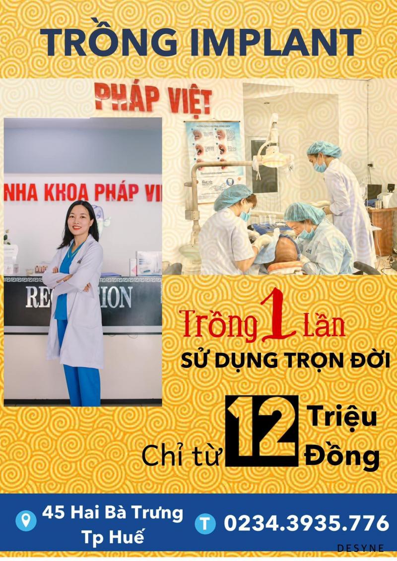 Nha Khoa Pháp Việt Huế