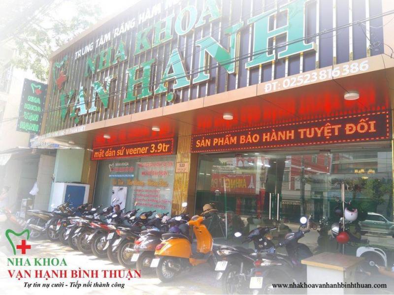 Nha khoa Vạn Hạnh Bình Thuận