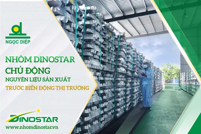 Nhà máy Nhôm Dinostar của Công ty Cổ phần Nhôm Ngọc Diệp