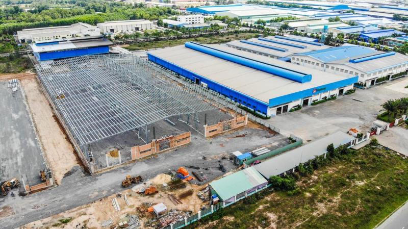 Nhà máy sản xuất nhôm thanh định hình Tungkuang - Công ty cổ phần công nghiệp TungKuang