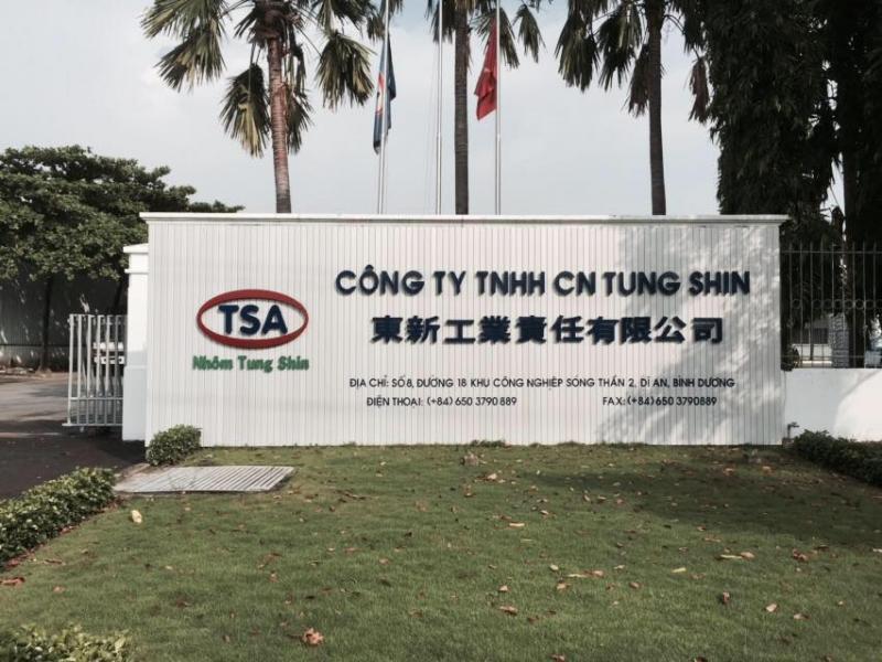 Nhà máy sản xuất nhôm thanh định hình Tungshin – Công ty TNHH Công nghiệp Tungshin