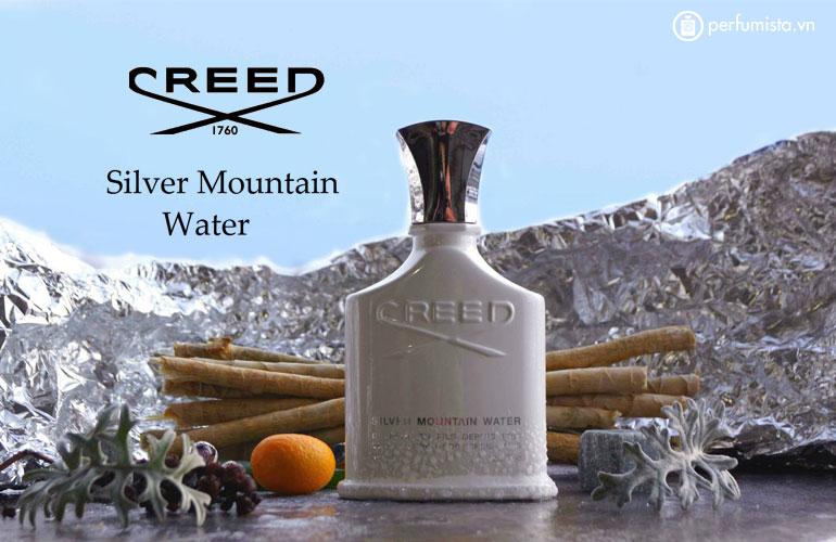 Nước hoa unisex Silver Mountain Water của hãng CREED