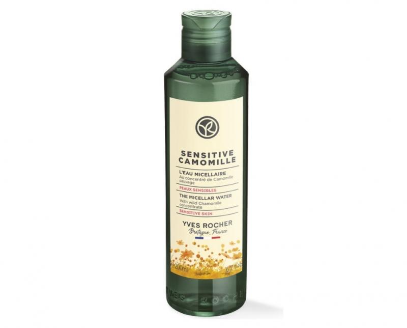 Nước làm sạch da Yves Rocher Sensitive Camomille Micellar Water