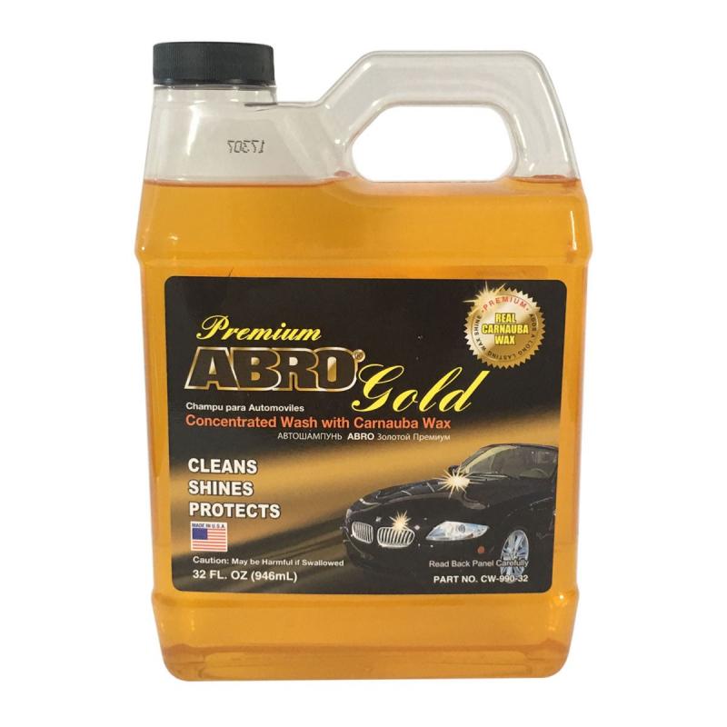 Nước rửa xe Abro Premium Gold Car Wash