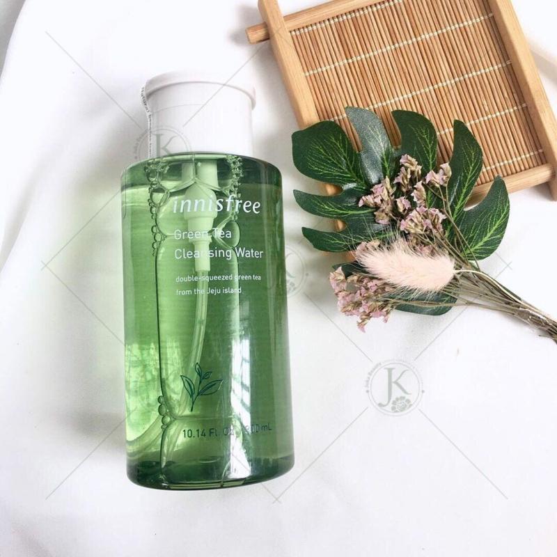 Nước tẩy trang trà xanh innisfree Green Tea Cleansing Water 300ml