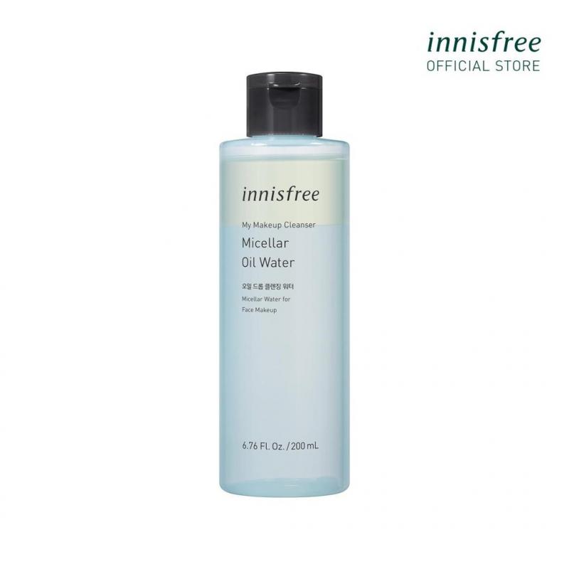Nước tẩy trang và làm sạch da innisfree My Makeup Cleanser Micellar Oil Water 200ml