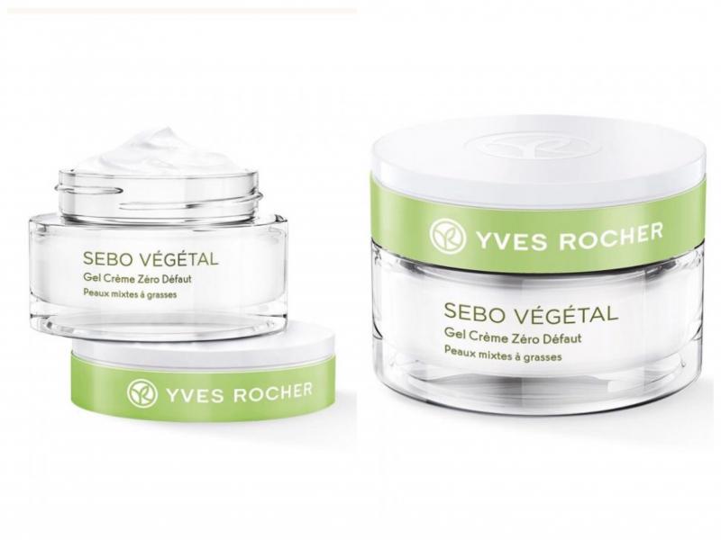 Sản phẩm dưỡng da Yves Rocher Sebo Vegetal Zero Blemish Gel Cream