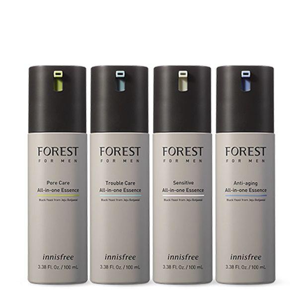 Sản phẩm dưỡng toàn diện chăm sóc da nhạy cảm innisfree Forest for men Sensitive All-in-one Essence 100ml