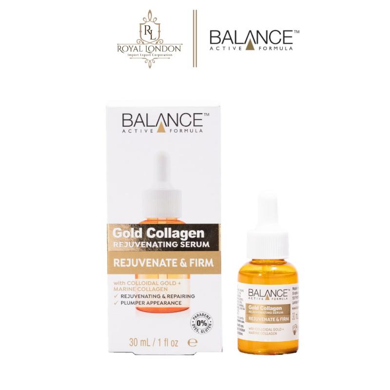Serum Balance Active Formula Gold Collagen Rejuvenating