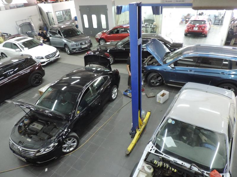 Sửa xe Châu Âu - VW Long Biên Service