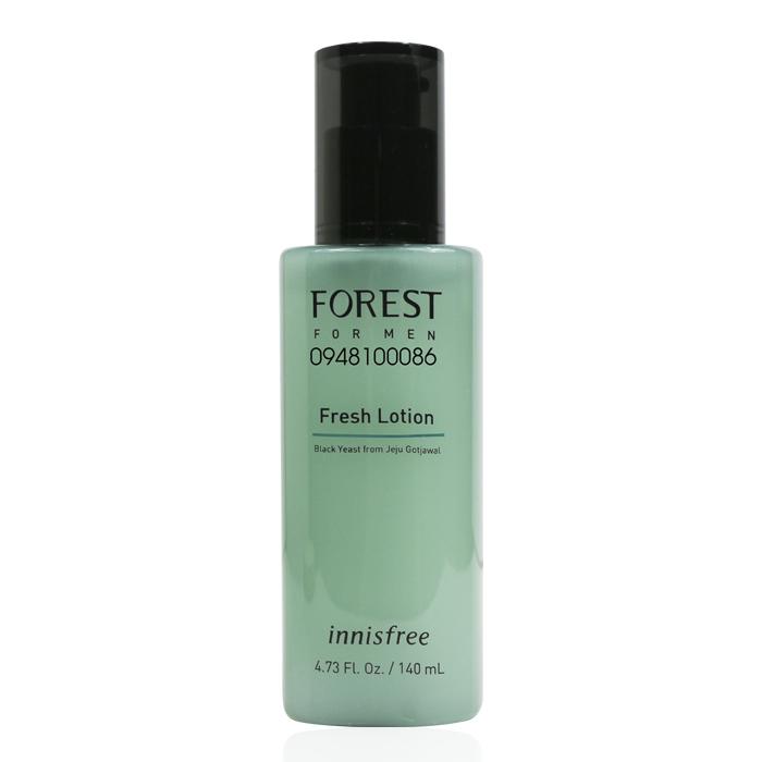 Sữa dưỡng cho nam innisfree Forest for men Fresh Lotion 140ml